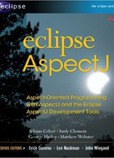 AspectJ is laready integrated with Eclipse programming.