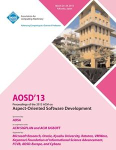 AOS 2013 proceedings booklet cover