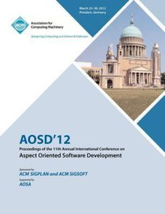 AOSD 2012 proceedings book cover
